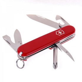 Фото 3 к товару Нож швейцарский Victorinox Tinker Small красный