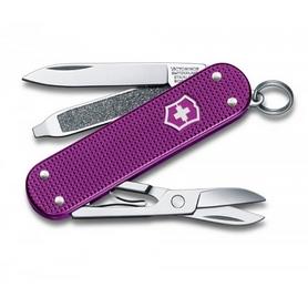 Нож швейцарский Victorinox Classic Alox фиолетовый