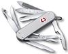 Нож швейцарский Victorinox Minichamp серебристый - фото 1