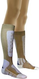 Термоноски женские X-Socks Ski Metal Lady Gold/White