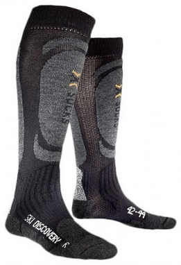 Термоноски унисекс X-Socks Skiing Discovery Black-Anthracite