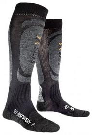 Фото 1 к товару Термоноски унисекс X-Socks Skiing Discovery Black-Anthracite