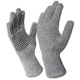 Перчатки водонепроницаемые Dexshell TechShield серые - S