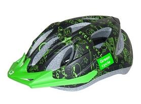 Велошлем детский Green Cycle Fast Five зеленый