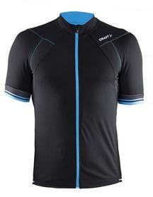 Велофутболка мужская Craft Puncheur Jersey М черный с синим