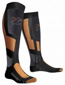 Термоноски унисекс X-Socks Snowboard Antracite/Orange