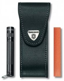 Фото 1 к товару Чехол поясной для складных ножей Victorinox 40523.3 черный
