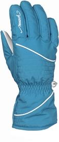 Перчатки горнолыжные женские Reusch Wanda R-TEXXT mosaic blue/white