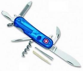 Нож швейцарский Wenger Evolution синий