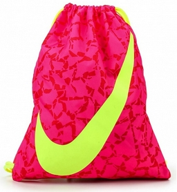 Рюкзак спортивный Nike Ya Graphic Gymsack розовый