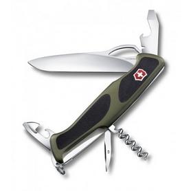Нож швейцарский Victorinox RangerGrip 61 130 мм зеленый/черный