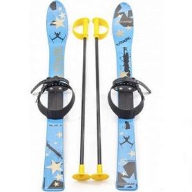 Лыжи детские Marmat Extreme Sport Junior 90 см голубые