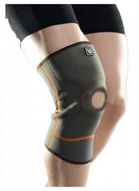 Наколенник спортивный Live UP Knee Support Gray LS5636 - S/M (28-40 см)