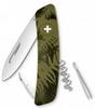 Нож швейцарский Swiza C01 Silva хаки - фото 1