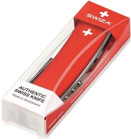 Фото 2 к товару Нож швейцарский Swiza D02 красный