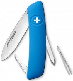 Нож швейцарский Swiza D02 синий