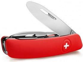 Фото 2 к товару Нож швейцарский детский Swiza J02 Junior красный