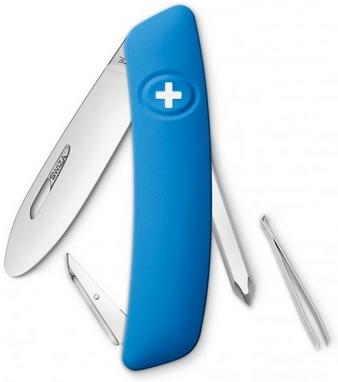 Нож швейцарский детский Swiza J02 Junior синий