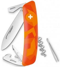 Нож швейцарский Swiza C03 Luceo оранжевый