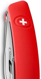 Фото 3 к товару Нож швейцарский Swiza D04 красный