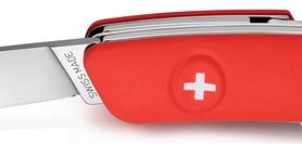 Фото 4 к товару Нож швейцарский Swiza D04 красный