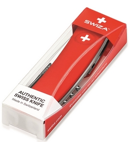 Фото 3 к товару Нож швейцарский Swiza D04 синий