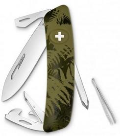Нож швейцарский Swiza C04 Silva хаки