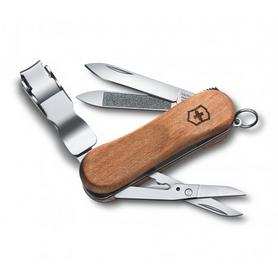 Нож швейцарский Victorinox NailClip Wood 580 65 мм