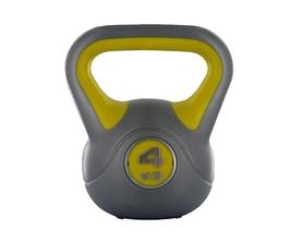 Гиря пластиковая насыпная Live UP Plastic Kettel Bell 4 кг