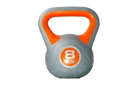 Гиря пластиковая насыпная Live UP Plastic Kettel Bell 8 кг