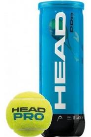 head Мячи для большого тенниса Head Pro Can 571023 (3 шт)