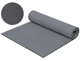 Коврик для фитнеса Mega Foam Практик 10 мм серый