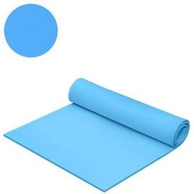 Коврик для фитнеса Mega Foam Универсальний 6 мм голубой