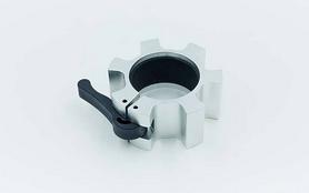 Фото 3 к товару Замки алюминиевые для грифа Zelart Lock-Jaw Pro 50мм TA-5109 серебрянные