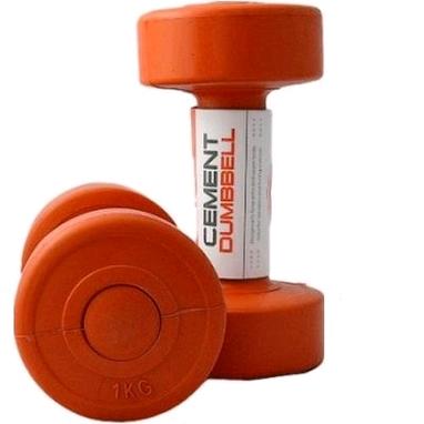 Гантели пластиковые Live Up Cement Dumbell 2 шт по 1 кг