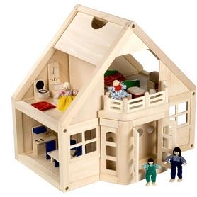 Фото 2 к товару Домик деревянный меблированный Melissa & Doug