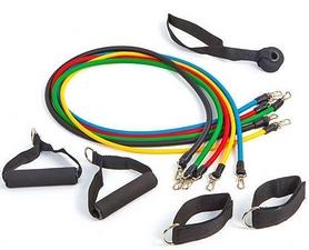 Набор эспандеров с петлями Pro Supra Power Bands 5 жгутов