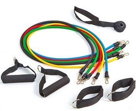 Фото 2 к товару Набор эспандеров с петлями Pro Supra Power Bands 5 жгутов
