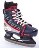 Коньки раздвижные детские хоккейные Tri-Gold PVC TG-KH901R черно-красные 32-35 - фото 2