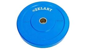 Диск бамперный 15 кг Zelart Z-Top ТА-5125-15