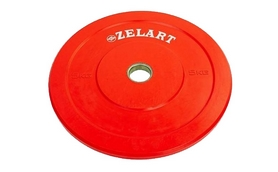 Диск бамперный 5 кг Zelart Z-Top ТА-5125-5