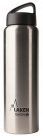 Термофляга Laken St. steel thermo bottle 18/8 TA10 Plain 1 л