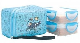 Термос пищевой Laken 2 PP Thermo food container 600 мл + NP Cover Delfin