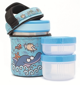 Термос пищевой Laken Thermo food container 1 л + NP Cover Delfin