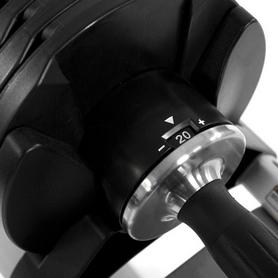 Фото 2 к товару Гантели с переменным весом со стойкой Finnlo Smart Lock 2x20 кг