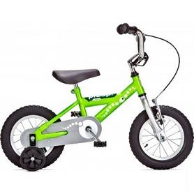 Велосипед детский Yedoo Pidapi 12 Steel зеленый