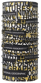 Головной убор летний многофункциональный Buff National Geographic High UV Words Multi