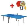 Стол теннисный для помещений Gp-1 зеленый + подарок - фото 1