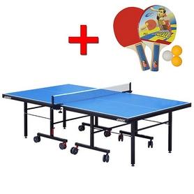 Стол теннисный складной для помещений G-profi + подарок