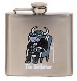 Фляга карманная Laken Kukuxumusu Hip Flask 150 мл Bull Father